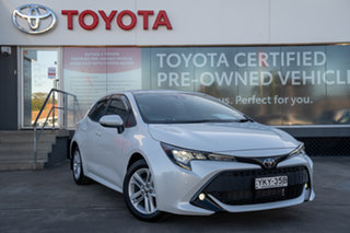 2021 Toyota Corolla Mzea12R SX Frosted White 10 Speed Constant Variable Hatchback.