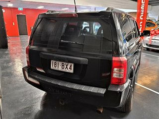 2008 Jeep Patriot MK MY2007 Limited CVT Auto Stick Black 6 Speed Constant Variable Wagon