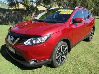 2015 Nissan Qashqai J11 TL Red 1 Speed Constant Variable Wagon