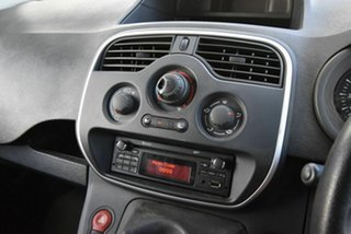 2014 Renault Kangoo F61 Phase II White 5 Speed Manual Van