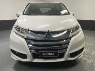 2016 Honda Odyssey RC MY16 VTi White Orchid 7 Speed Constant Variable Wagon.