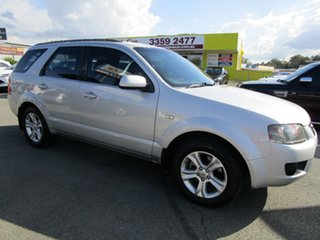 2009 Ford Territory SY MkII TX Silver 4 Speed Sports Automatic Wagon.