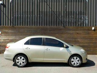 2007 Toyota Yaris NCP93R YRS Green 4 Speed Automatic Sedan.