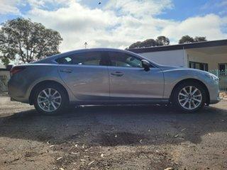 2013 Mazda 6 GJ1031 Sport SKYACTIV-Drive Silver 6 Speed Sports Automatic Sedan.