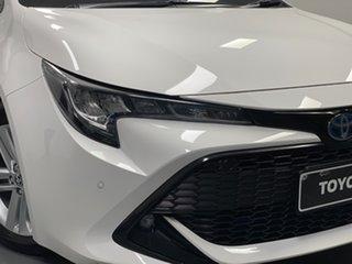 2020 Toyota Corolla ZWE211R SX E-CVT Hybrid White 10 Speed Constant Variable Hatchback Hybrid.