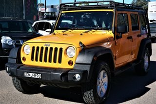 2012 Jeep Wrangler JK MY2012 Unlimited Sport Yellow 6 Speed Manual Softtop