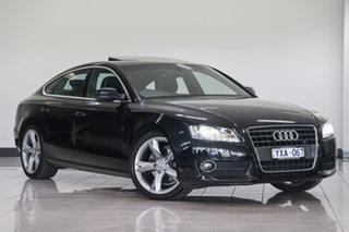 2011 Audi A5 8T MY11 Sportback Multitronic Black 8 Speed Constant Variable Hatchback.