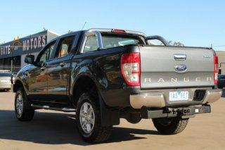 2013 Ford Ranger PX XLT 3.2 (4x4) Grey 6 Speed Automatic Dual Cab Utility