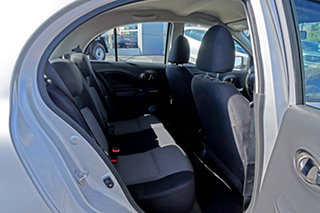 2015 Nissan Micra K13 Series 4 MY15 ST Silver 4 Speed Automatic Hatchback