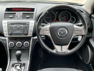2008 Mazda 6 GH1051 Classic Black 5 Speed Sports Automatic Hatchback.