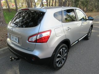 2012 Nissan Dualis J10W Series 3 MY12 Ti-L Hatch X-tronic 2WD Silver 6 Speed Constant Variable