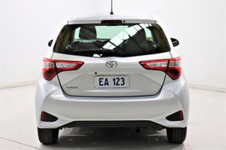 2018 Toyota Yaris NCP130R MY17 Ascent Silver 4 Speed Automatic Hatchback