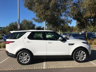 2017 Land Rover Discovery Series 5 L462 MY18 HSE White 8 Speed Sports Automatic Wagon.