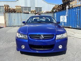 2005 Holden Ute VZ Storm S Blue 4 Speed Automatic Utility