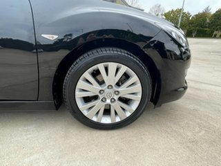 2008 Mazda 6 GH1051 Classic Black 5 Speed Sports Automatic Hatchback