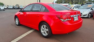 2010 Holden Cruze JG CD Red 6 Speed Sports Automatic Sedan