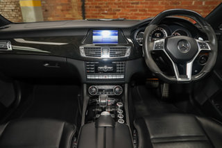 2014 Mercedes-Benz CLS-Class C218 MY14 CLS63 AMG Coupe SPEEDSHIFT MCT S Tenorite Grey 7 Speed
