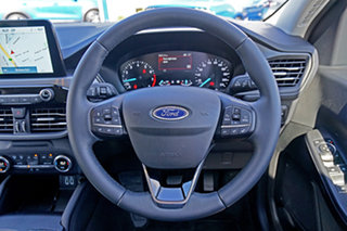 2020 Ford Escape ZH 2021.25MY White 8 Speed Sports Automatic SUV
