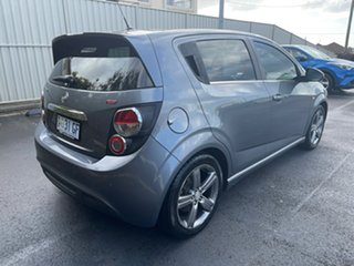 2014 Holden Barina TM MY14 RS Grey 6 Speed Sports Automatic Hatchback