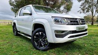 2021 Volkswagen Amarok 2H MY21 TDI580 4MOTION Perm Highline Candy White 8 Speed Automatic Utility.