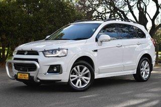 2018 Holden Captiva CG MY18 LT AWD White 6 Speed Sports Automatic Wagon.