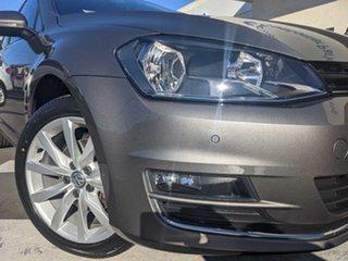 2016 Volkswagen Golf VII MY17 110TSI DSG Highline Limestone Grey Metalic 7 Speed.