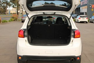 2016 Mitsubishi ASX XC MY17 LS (2WD) White Continuous Variable Wagon
