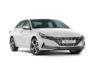 2021 Hyundai i30 CN7.V1 MY21 N Line D-CT Premium Polar White 7 Speed Automatic Sedan
