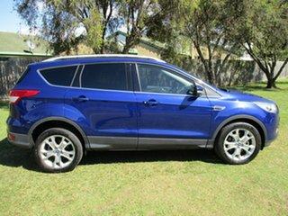 2014 Ford Kuga TF Trend PwrShift AWD Blue 6 Speed Sports Automatic Dual Clutch Wagon.