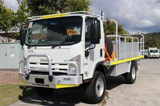 2011 Isuzu NPS300 4x4 White Manual Firetruck.