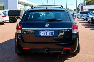 2009 Holden Commodore VE MY10 SV6 Sportwagon Black 6 Speed Sports Automatic Wagon