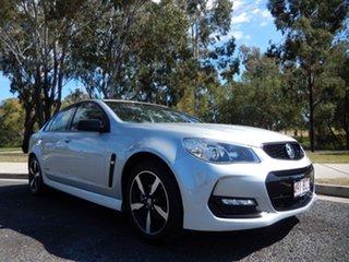 2016 Holden Commodore Vfii MY16 SV6 Black Edition Silver 6 Speed Automatic Sedan.
