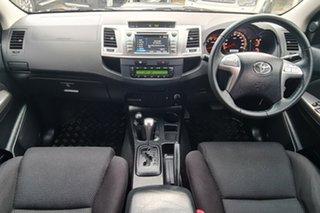2015 Toyota Hilux KUN26R MY14 SR5 Double Cab Grey 5 Speed Automatic Utility.
