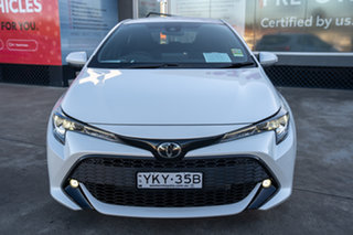 2021 Toyota Corolla Mzea12R SX Frosted White 10 Speed Constant Variable Hatchback