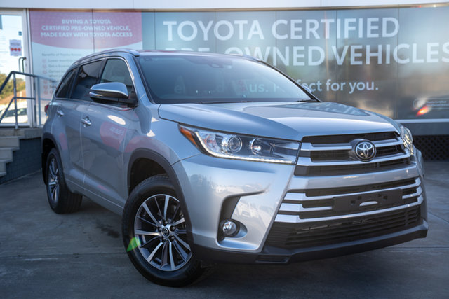 Pre-Owned Toyota Kluger GSU50R GXL 2WD Guildford, 2019 Toyota Kluger GSU50R GXL 2WD Silver 8 Speed Sports Automatic Wagon