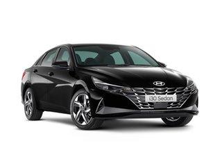 2021 Hyundai i30 CN7.V1 MY21 N Line D-CT Phantom Black 7 Speed Automatic Sedan