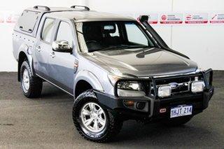 2011 Ford Ranger PK XLT (4x4) Grey 5 Speed Manual Dual Cab Pick-up.