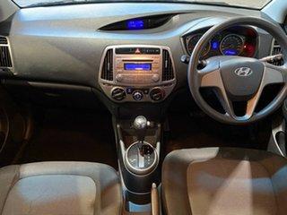 2015 Hyundai i20 PB MY15 Active White 4 Speed Automatic Hatchback