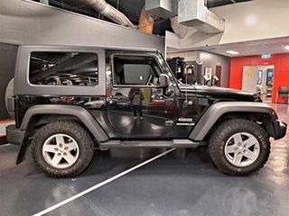 2010 Jeep Wrangler JK MY2010 Sport Black 4 Speed Automatic Softtop.