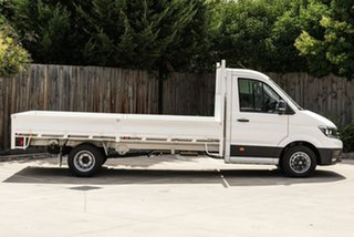 2019 Volkswagen Crafter SY1 MY19 50 LWB TDI410 White 8 Speed Automatic Cab Chassis