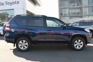2014 Toyota Landcruiser Prado KDJ150R MY14 GXL Dynamic Blue 5 Speed Sports Automatic Wagon.