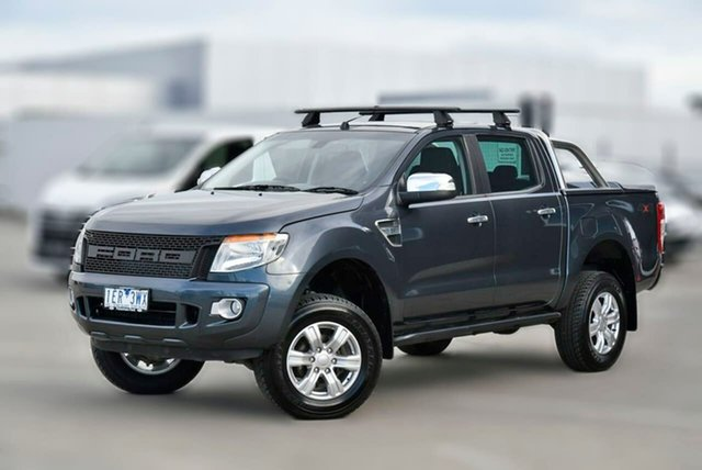 Used Ford Ranger PX MkII XLT Double Cab Pakenham, 2015 Ford Ranger PX MkII XLT Double Cab Silver 6 Speed Manual Utility