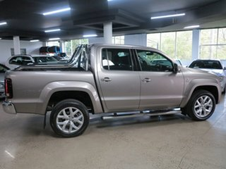 2018 Volkswagen Amarok 2H MY18 TDI550 4MOTION Perm Ultimate Silver 8 Speed Automatic Utility