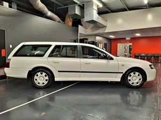 2008 Ford Falcon BF Mk III XT White 4 Speed Sports Automatic Wagon.