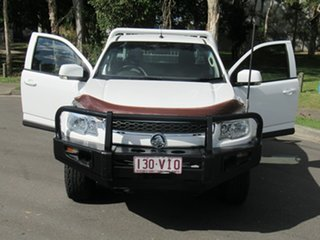 2015 Holden Colorado RG MY16 LS 4x2 White 6 Speed Manual Cab Chassis