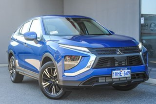 2021 Mitsubishi Eclipse Cross YB MY21 ES 2WD Lightning Blue 8 Speed Constant Variable Wagon.