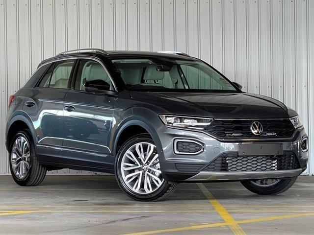 New Volkswagen T-ROC A1 MY21 110TSI Style Moorabbin, 2021 Volkswagen T-ROC A1 MY21 110TSI Style Grey 8 Speed Sports Automatic Wagon