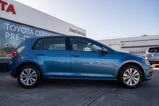 2015 Volkswagen Golf VII MY15 90TSI Comfortline Blue 6 Speed Manual Hatchback