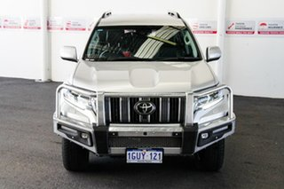 2020 Toyota Landcruiser Prado GDJ150R VX Silver Pearl 6 Speed Sports Automatic Wagon.