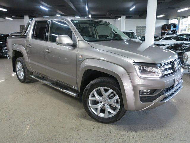 Used Volkswagen Amarok 2H MY18 TDI550 4MOTION Perm Ultimate Albion, 2018 Volkswagen Amarok 2H MY18 TDI550 4MOTION Perm Ultimate Silver 8 Speed Automatic Utility